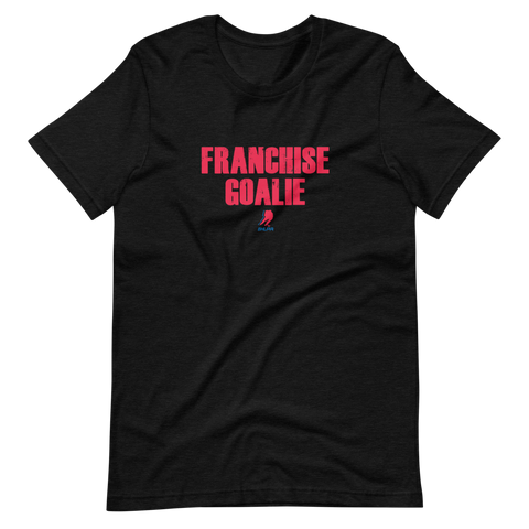 Franchise Goalie T-Shirt (Black)