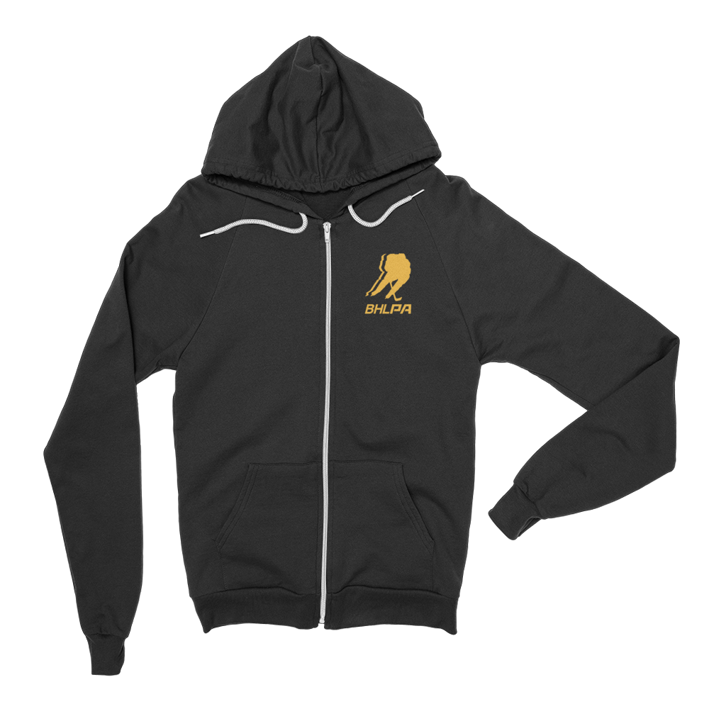 BHLPA Logo Full Zip Sweatshirt (Pittsburgh/Boston)