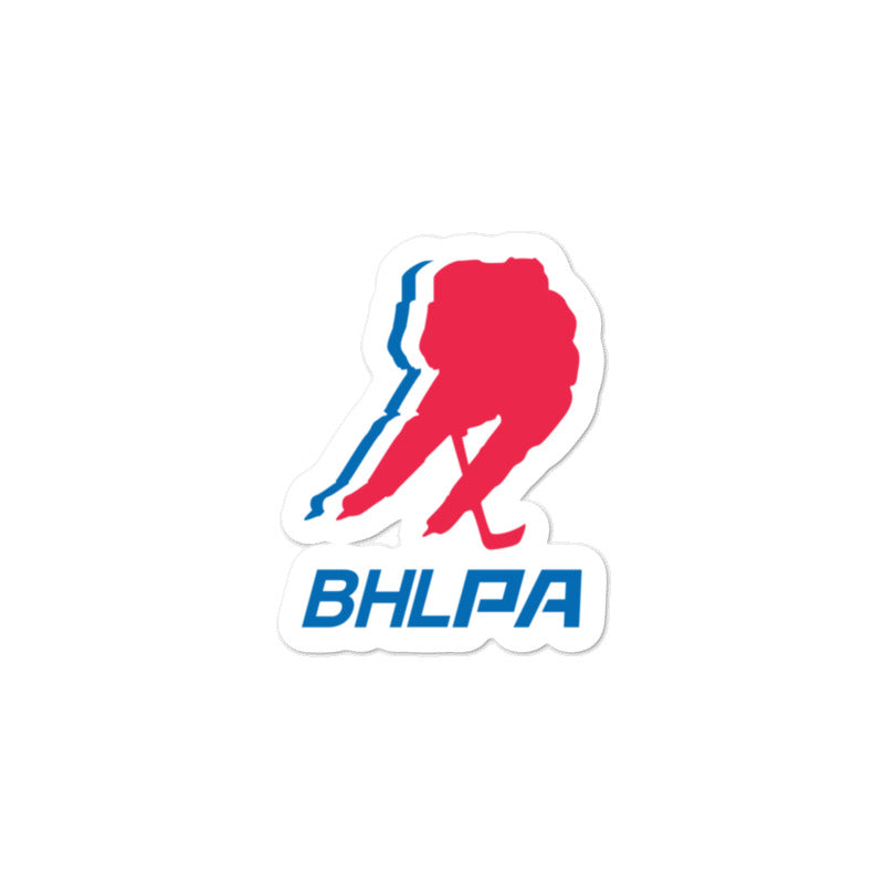 BHLPA Logo Sticker