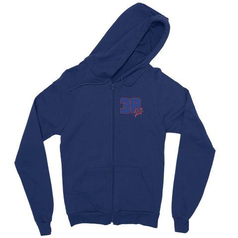 KVG 38 Signature Full Zip Sweatshirt (Navy)