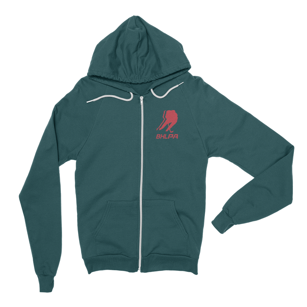 BHLPA Logo Full Zip Sweatshirt (Minnesota)