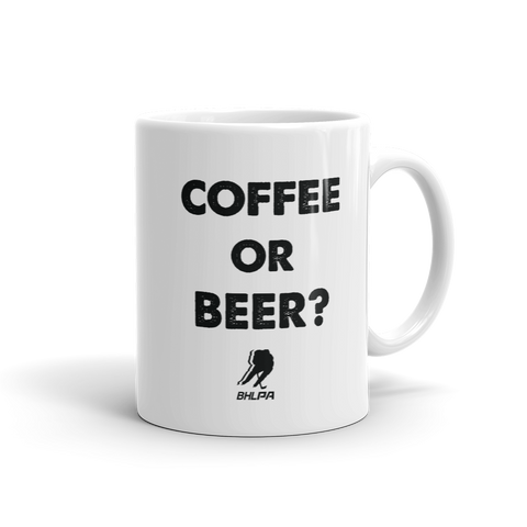 Coffee or Beer Coffey Mug