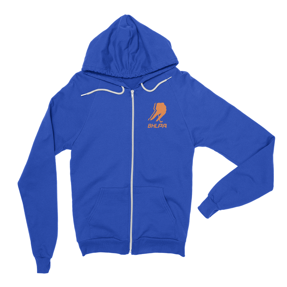 BHLPA Logo Full Zip Sweatshirt (Edmonton/New York)