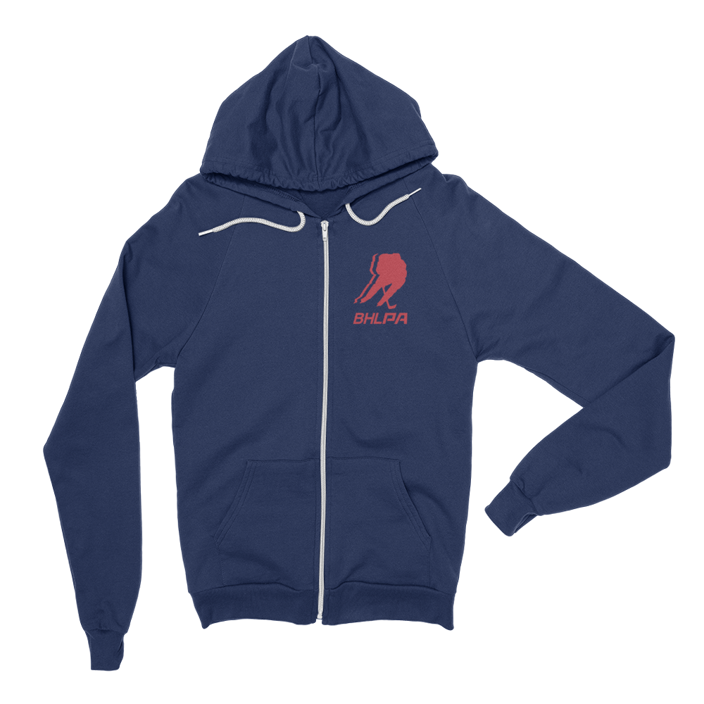 BHLPA Logo Full Zip Sweatshirt (Columbus)
