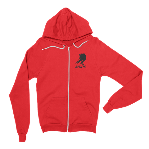 BHLPA Logo Full Zip Sweatshirt (Chicago/New Jersey/Ottawa)