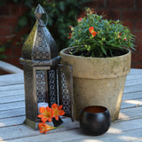 Moroccan table candle lantern