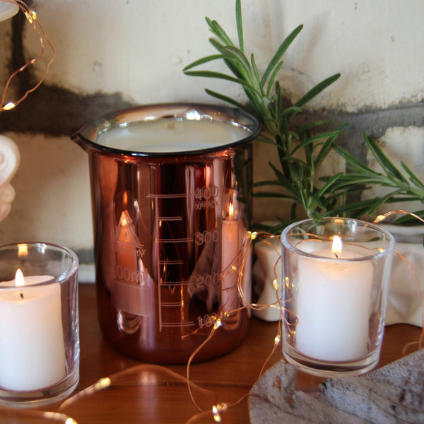 Alchemy Candle - copper beaker