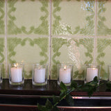 Votive candles set of 6