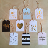 Gift tags assorted styles