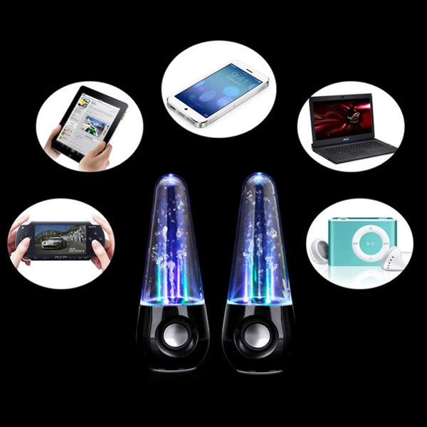 Beautiful LED Light Water Dancing Speakers for Your Music Lover Man