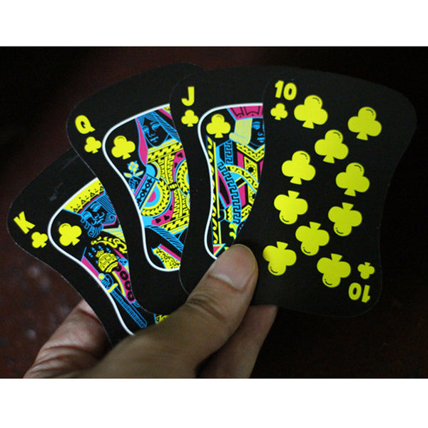 Playing Cards - Neons on Black