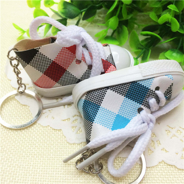 Cute Canvas Sneaker Keychain for Boyfriend *5 pcs/ lot*