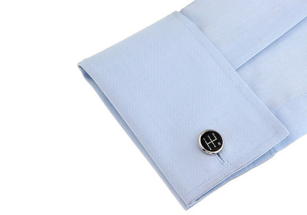 Fun Cufflinks for Men - Gear Shift 3