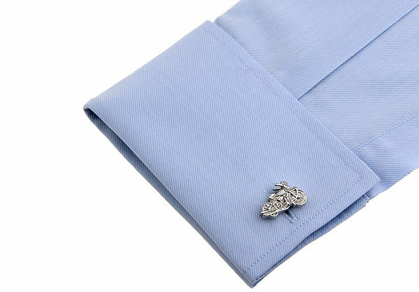 Fashionable Cufflinks for Men - Motorcycle