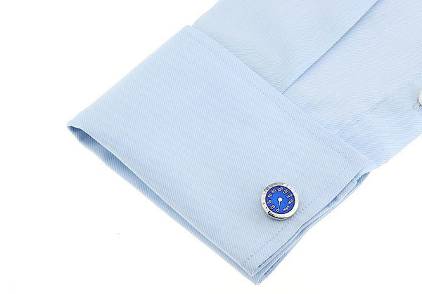 Fun Cufflinks for Men - Speedometer