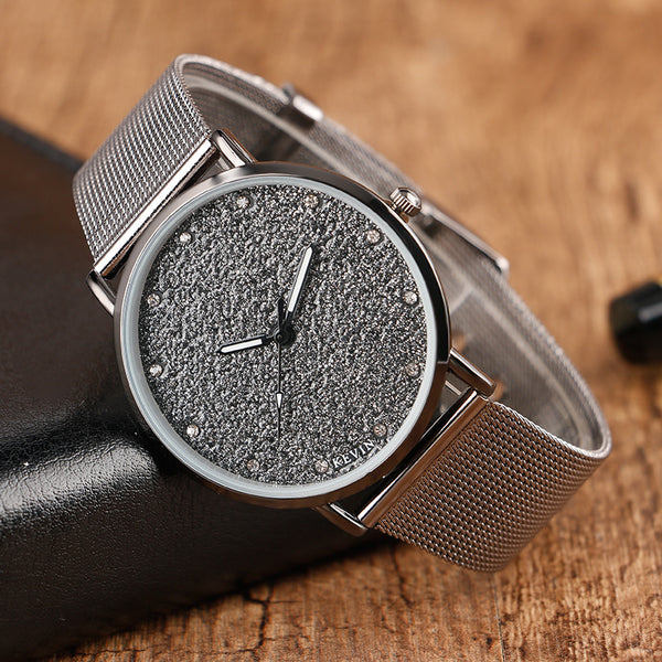 Glamour Dark Stardust Designer Watch