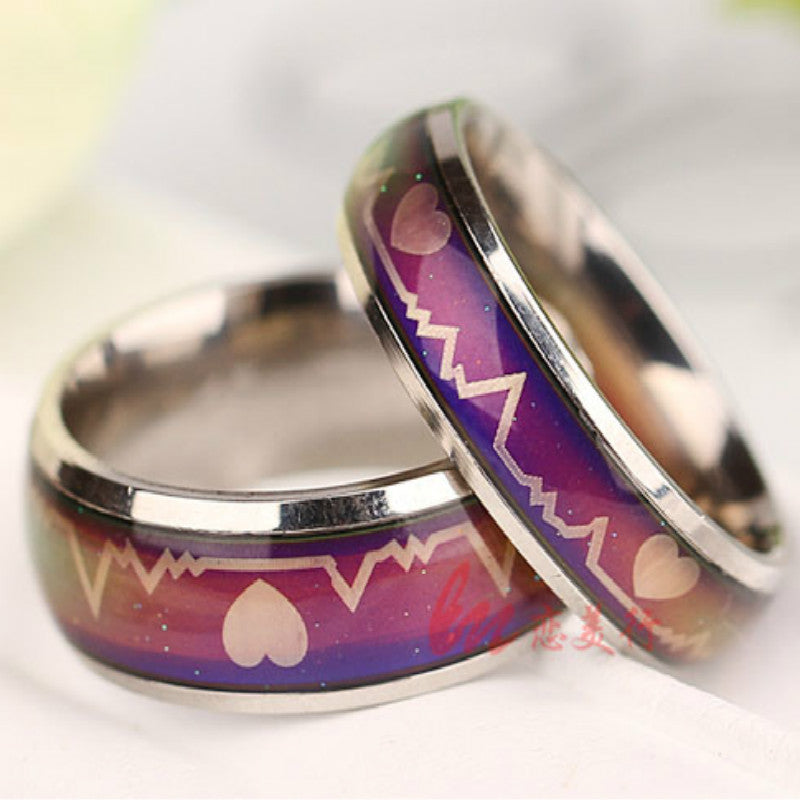 Romantic Color Changing Mood Ring to Showcase Your Every Emotion