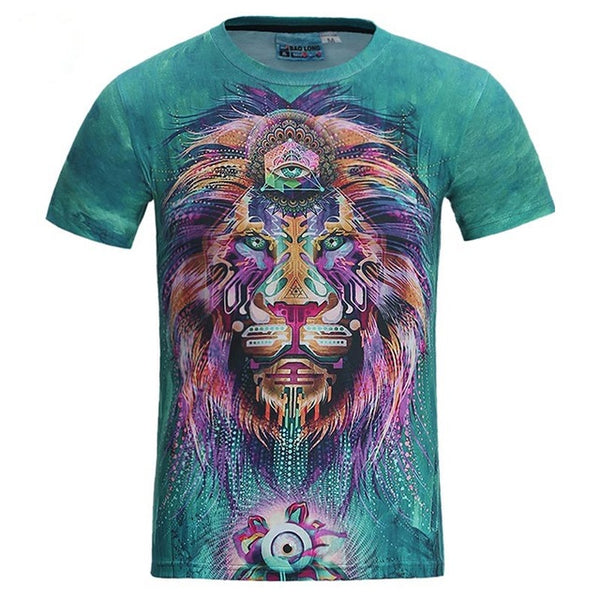 Fashion Graphic Tee - Magical Mystery Lion