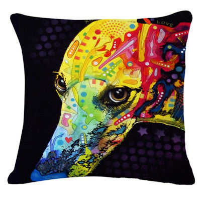 Cushion Covers for Dog Lovers - Artistic *23 Variants*