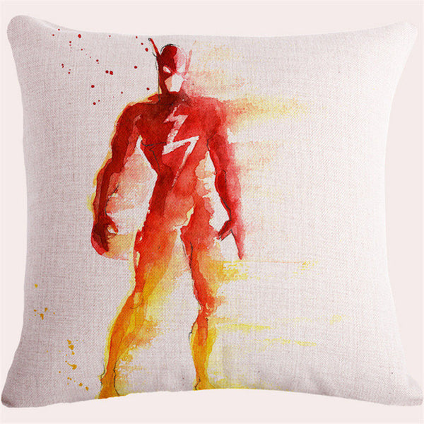 Quality Vintage Car Cushion Cover *10 Heroes* for Marvel Fans