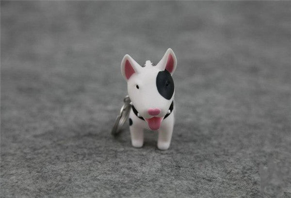 Key Chains for Dog Lovers - Mini Rubber Pups *4 Variants*