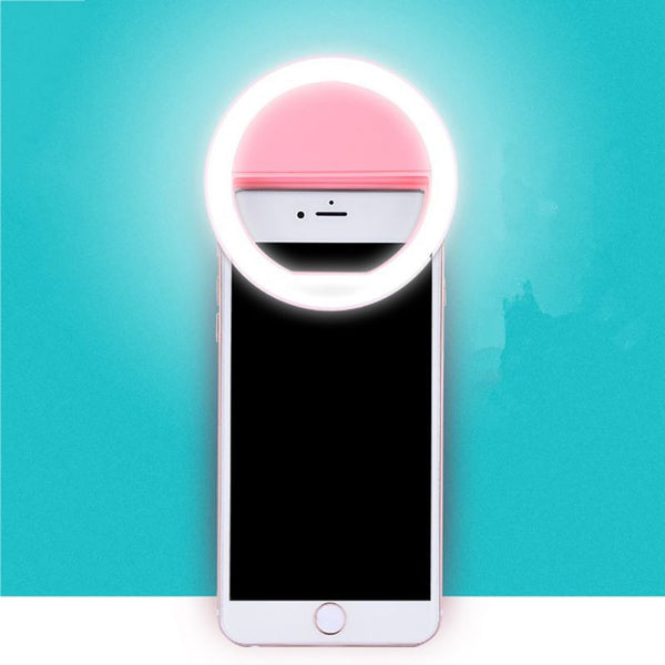 Luxury Phone Ring LED Spotlight for Your Man's Smart Phone - *4 Colors* Variants