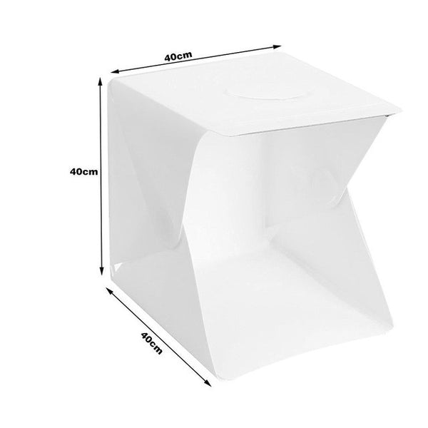 Portable Mini Folding Softbox LED Photo Studio for your Loving Men