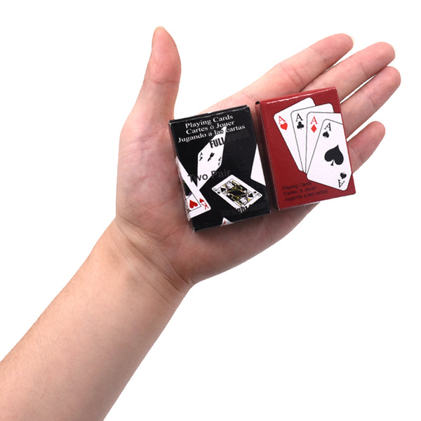 Playing Cards - Mini Sized *2 Colors* Buy 1 FREE 4 now!