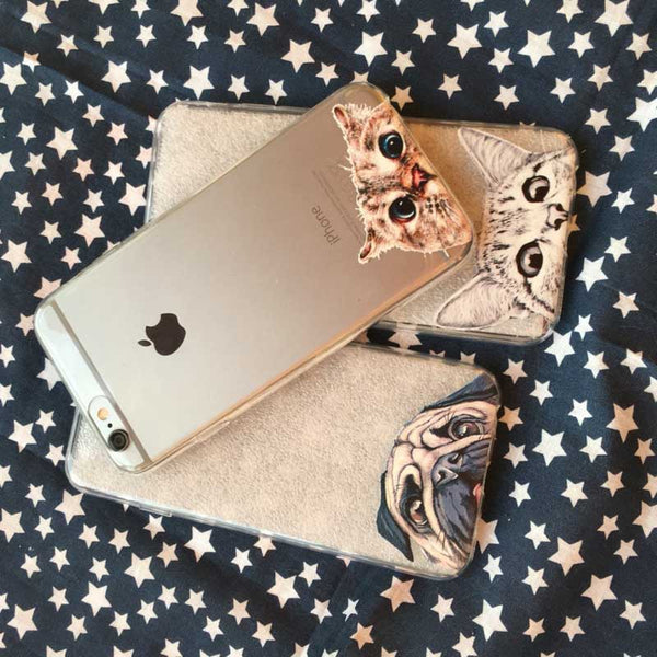 Peek-a-boo Phone Cover for Cat Lovers - Singapura Cat