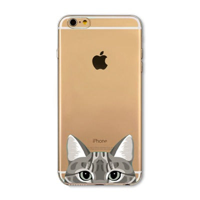 Peek-a-boo Phone Cover for Cat Lovers - American Shorthair Cat