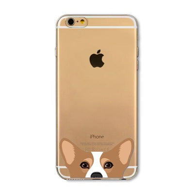 Peek-a-boo Phone Cover for Dog Lovers - Welsh Corgi