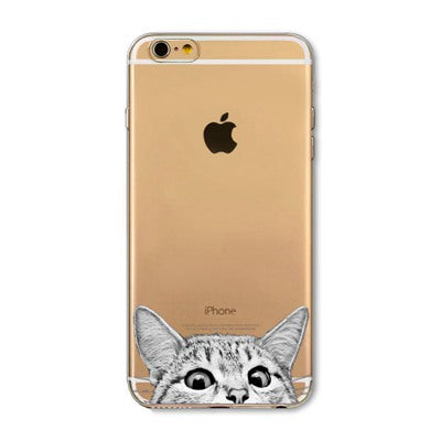 Peek-a-boo Phone Cover for Cat Lovers - American Shorthair Cat 2