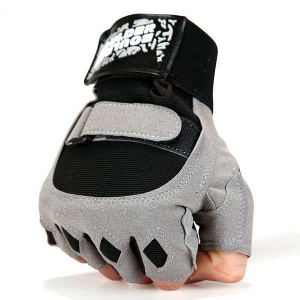 Black Diamond Protective Workout Gloves *Black or Gray*