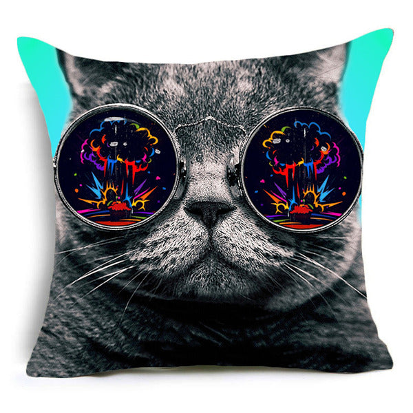 Cool Cats Cushion Cover 4