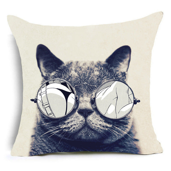 Cool Cats Cushion Cover 3