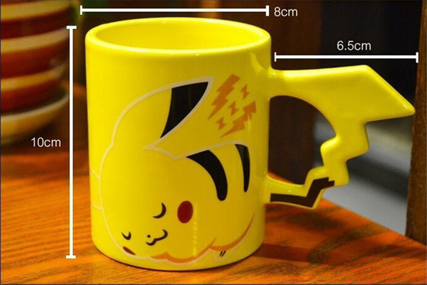 Sleeping Pokemon Pikachu Coffee Mugs for Pokemon Fan