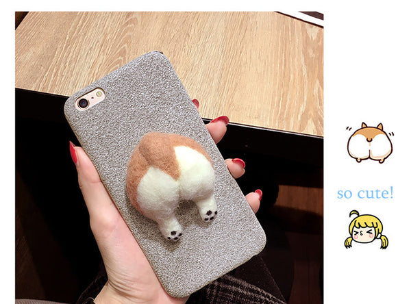 Couple Phone Covers for Dog Lovers - Corgi Butts
