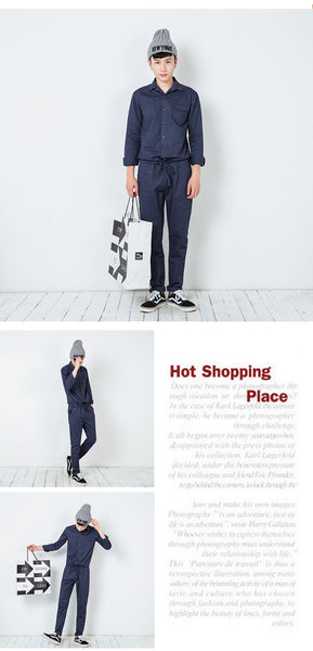 Classic Casual Jumpsuit for Men