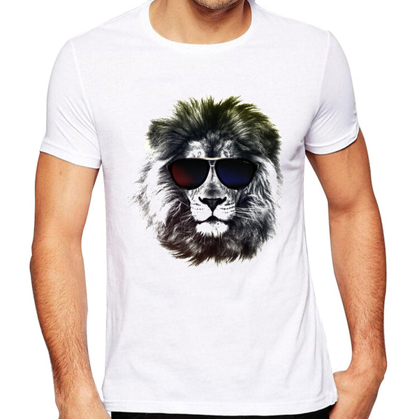 Fashion Graphic Tee - Boss Lion