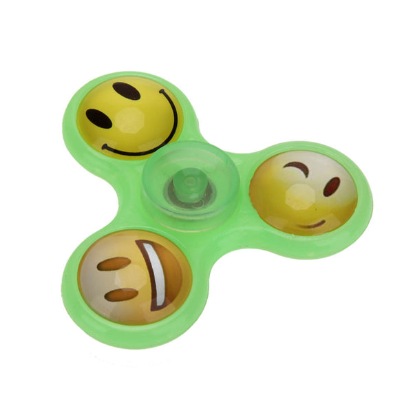 Emoticon Fun Luminous Fidget Spinner