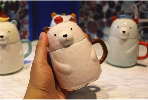 Cool Daddy Bear Unique Mugs *4 Variants*