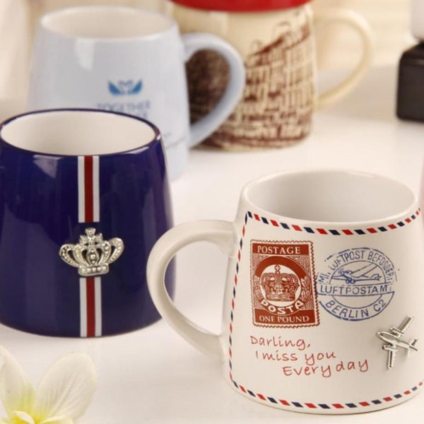 Love Mugs with Unique Charms for The Man In Your Life