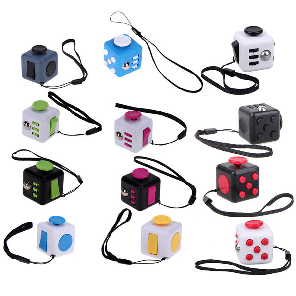 Mini Fidget Cube *12 Colors*