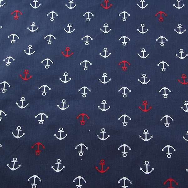 Navy Series Patchwork *Fabric by Meter, 160 x 50cm* (PENDING)