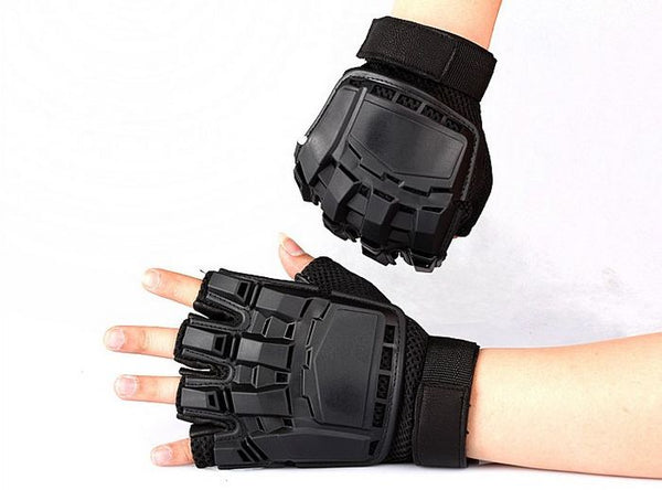 Black Combat Fight Workout Gloves for Men *2 Variants*