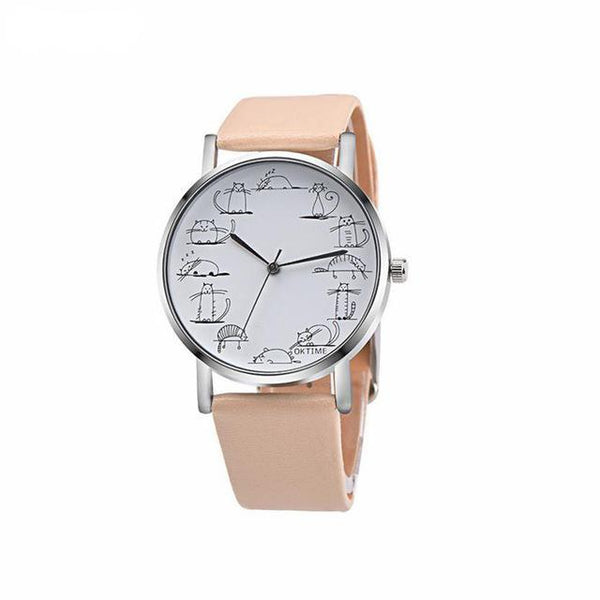 Life of a Cat Unisex Designer Watch *5 Colors*