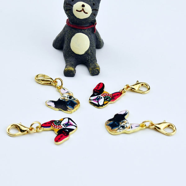 Key Chains for Dog Lovers - French Bulldog Charms *5 Variants
