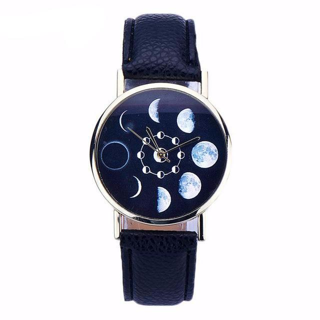 Amazing Lunar Eclipse Unisex Fashion Watch *5 Colors*