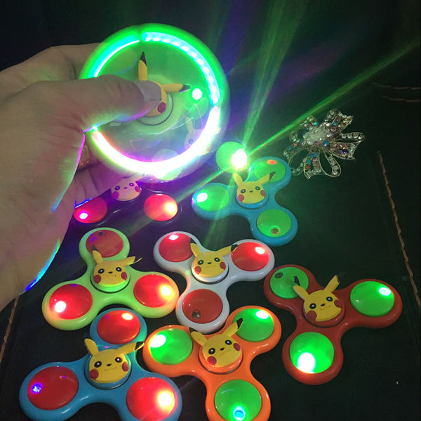 Cute Cartoon LED Fidget Spinner *8 Cartoons*