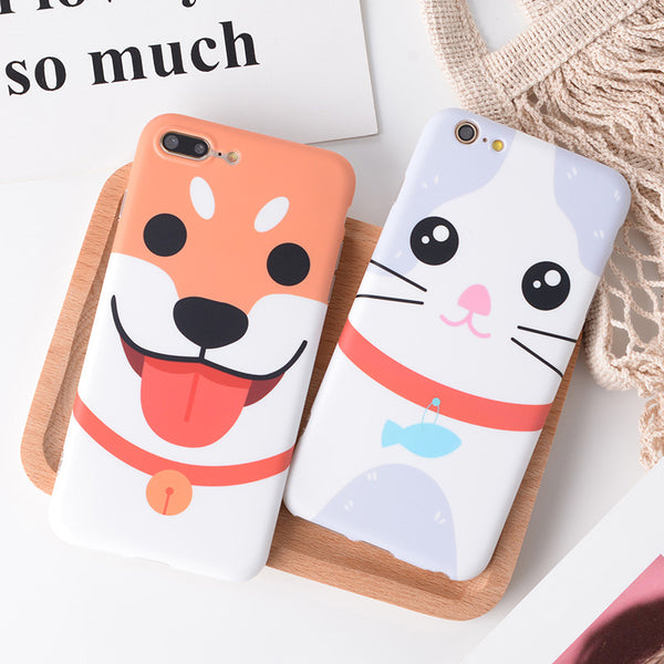 Couple Phone Covers for Dog Lovers - Cat & Dog